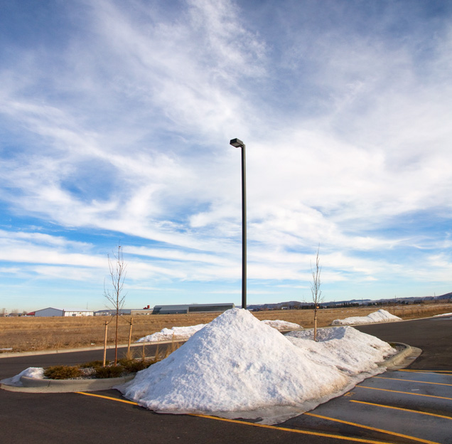 Montana Light Post